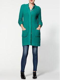 Pim + Larkin Novelty Stitch Sweater Coat | Piperlime
