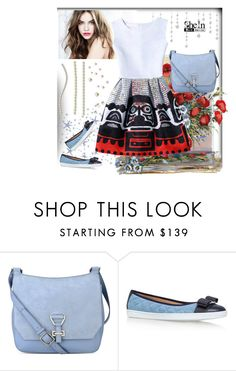 """""""SHEIN"""" by rilner ❤ liked on Polyvore featuring Nine West, Salvatore Ferragamo and WithChic"""