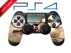 Mad Max Playstation 4 ps4 Controller Skin