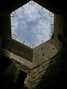 Interior of corner tower, Bodiam Castle Bodiam Castle, Isle Of Wight, East Sussex, 14th Century, Hampshire, Entrance, Coast, Tower, England