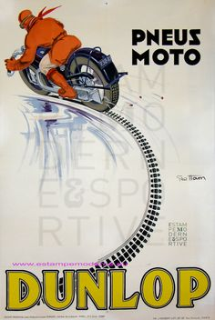 Geo Ham Dunlop Pneus Moto Dunlop Imp J. Herbert & Cie Paris