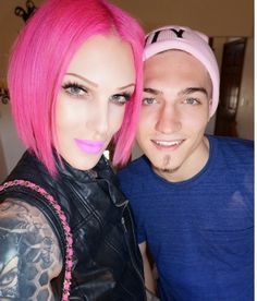 Jeffree is a true goddess! They look so good together. They genuinely look like they're in love and happy. I hope I'm right❣❣