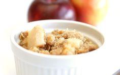 Croustade aux Pommes Healthy Recipes, Oatmeal, Sugar, Cooking, Breakfast, Michel, Food, Menu, Apple Crisp