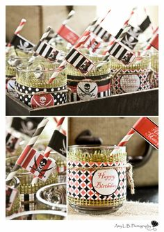 Cupcake Express: (sweet customers) Gavin's 6th Pirate Birthday Party