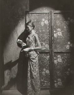 floral on floral--by Cecil Beaton