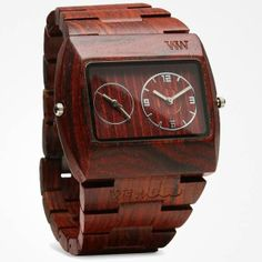 WeWOOD Eco-Chic Wooden Watch, $135