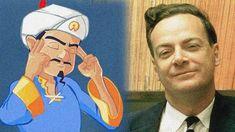 Can Akinator Guess Richard Feynman? Quantum Electrodynamics, Physics Humor, Richard Feynman, Manhattan Project, Who Will Win, Original Song, Science And Technology, Cartoon, History
