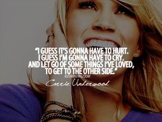 Starts With Goodbye || CARRIE FTW!!