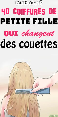 For short, long, smooth or curly hair … Discover our best hairstyle ideas for little girls who change duvets! by Parentenfant Little Girl Hairstyles, Easy Hairstyles, Hairstyle Ideas, Anna Rose, Feeling Depressed, Simple Girl, Hair Designs, Hair Inspo, Hairdresser