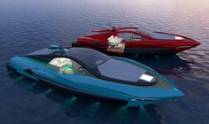 The Italian Charme 45 Superyacht Tender by Studio Pannone Architetti