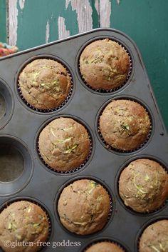 Gluten-Free Goddess Zucchini Flax Muffins Recipe