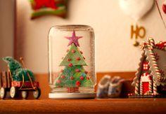 Globo de neve: como fazer este enfeite de Natal.