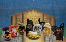 Free nativity Crochet Patterns Amigurumi | Design Patterns » Crochet Nativity Patterns by ammieiscool