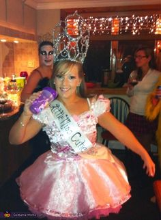 Toddlers and Tiaras Costume - Halloween Costume Contest via @costumeworks