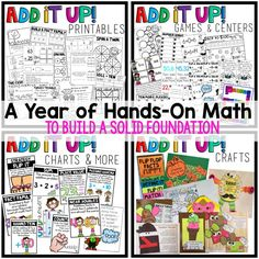 Hands on math activi