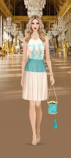 Marie Antoinnette event on Covet Fashion Game
