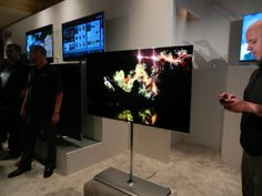 I want this to be my next TV.  I don't know how much it will cost, but it looks amazing.