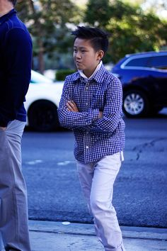 On the Street, The Young Sartorialist, Las Vegas Strip  http://richmbariket.com/sartorialist/ #photography #streetphotography #fashion #style #boy