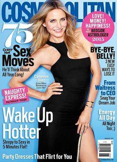 Cameron Diaz on the cover of Cosmopolitan.