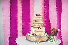 King's Hawaiian Wedding Cake #kingshawaiian #sweetrolls #bakery #cake #wedding #weddingcake #torrance #california #la #losangeles #hawaii #nakedcake