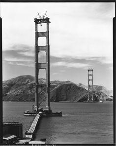 construction Golden Gate Bridge 10 La construction du Golden Gate Bridge  photo histoire featured architecture