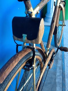 Woodbike - biciclette di legno - wooden bicycle