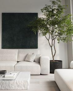 Livig room #livingroom #modernlivingroom #minimalisticlivingroom #livingroomdesign #minimalism #architecture #minimalisticarchitecture #minimalisticinterior #ideasforlivingroom Minimalist Interior, Modern Minimalist, Family Apartment, Living Room Designs, Design Projects, Love Seat, Minimalism, Modern Design, New Homes