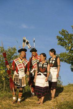 Angami tribe, near Kohima, Nagaland, India