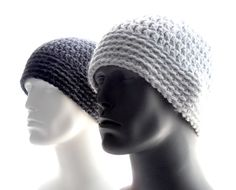 This instant digital download pattern contains easy-to-follow instructions to crochet the Chunky Guy Beanie. Its the yarn thats chunky -- and not necessarily the guy -- in this perfectly proportioned classic beanie. The pattern is a lighter weight version of my Perfect Guy Beanie --