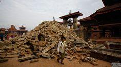 Aardbeving Nepal