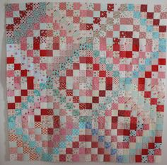 Why Not Sew?: Scrappy Trip Quilt Top