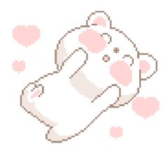 cute kawaii bear pastel goth problemsdisappear •
