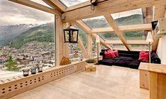 Luxury chalet in Zermatt in the Swiss Alpes