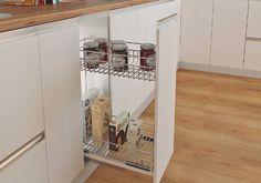 Canastas Multiusos 2 Niveles mod 300mm - Madecentro Bathroom Medicine Cabinet, Kitchen Cabinets, Storage, Furniture, Home Decor, Wood, Baskets, Day Planners, Purse Storage