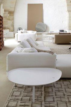 Intérieur de en blanc design de cette maison de vacances