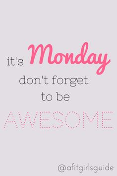 Happy Monday from Oregon Injury Clinic!:)