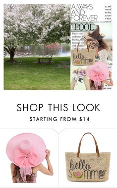 """Untitled #160"" by chloe4321 ❤ liked on Polyvore featuring beauty, Spell & the Gypsy Collective and Straw Studios"