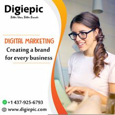Digiepic is a full service Digital Marketing Agency Toronto that provides best digital marketing services that are suitable for your business. Build Your Brand, Creating A Brand, Mobile Application Development, Brand Building, Seo Company, Digital Marketing Services, Best Brand, Internet Marketing, The Book
