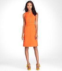 9ed0c7a15da Mariel by Tory Burch Tangerine Dress
