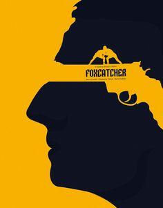 Foxcatcher - minimal film poster