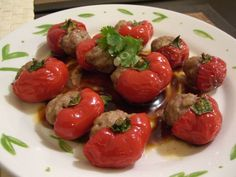 Quick and Easy Chinese Stuffed Peppers With Pork