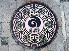 Japanese manhole covers by MRSY-24