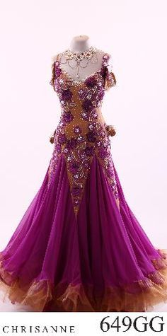 omg such a gorgeous smooth ballroom dress