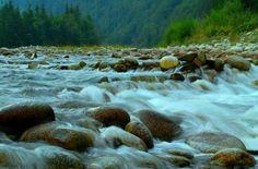 Bialka river in Poland