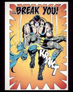 I think sometimes we all need a reminder just how human #Batman is. I've been reading the #Knightfall story arc and I'm really enjoying it. The first chunk is called #BrokenBat and it features this iconic image of #Bane breaking #TheDarkKnight. The story is very enjoyable very well written and has fantastic art. #GothamCity #geek #comicbook #comixology