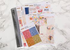 Rustic Tribal sticker kit  / Erin Condren sticker kit / Happy Planner / planner stickers / vertical sticker kit / weekly planner kit
