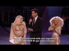 """▶ [LEGENDA] Lady Gaga e Christina Aguilera falam sobre colaboração no """"The Voice USA"""" - YouTube"""