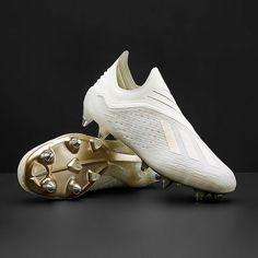 men's football boots - adidas X SG - off white / black - Adidas Soccer Shoes, Adidas Boots, Adidas Shoes Women, Adidas Football, Men's Football, Adidas Sport, Soccer Cleats, Mens Football Boots, Soccer Boots