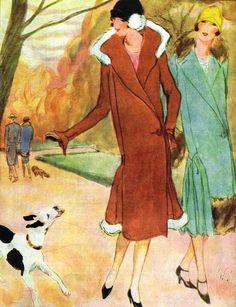 """ Fashion illustration, 1925 """