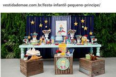 Idéias para festa do Pequeno Príncipe. By  vestidademae.com.br/festa-infantil-pequeno-principe/
